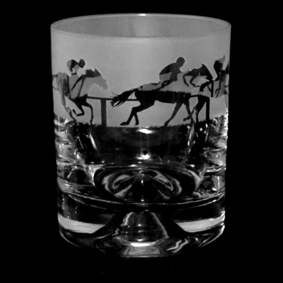 AT THE RACES Whisky Tumbler