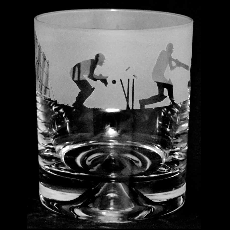 CRICKET Whisky Tumbler