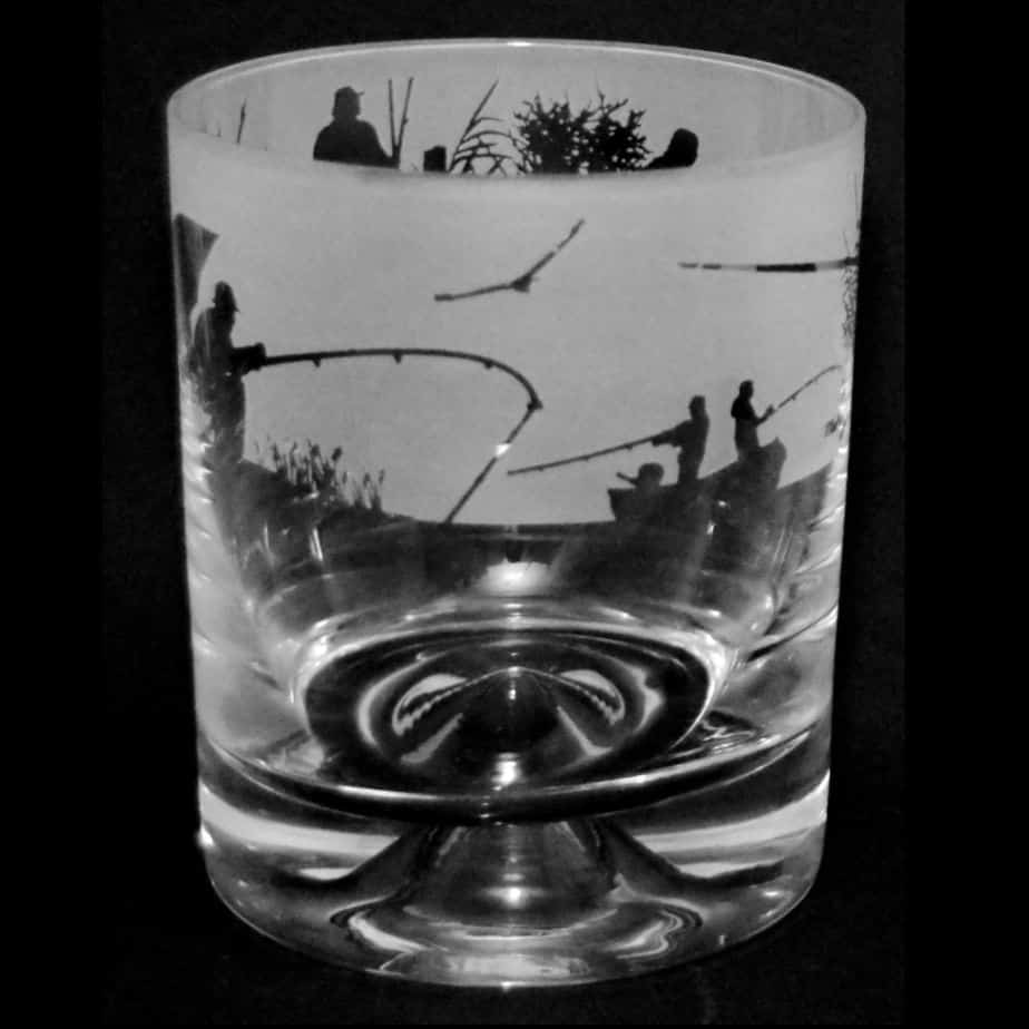 FISHING SCENE – Whisky Tumbler