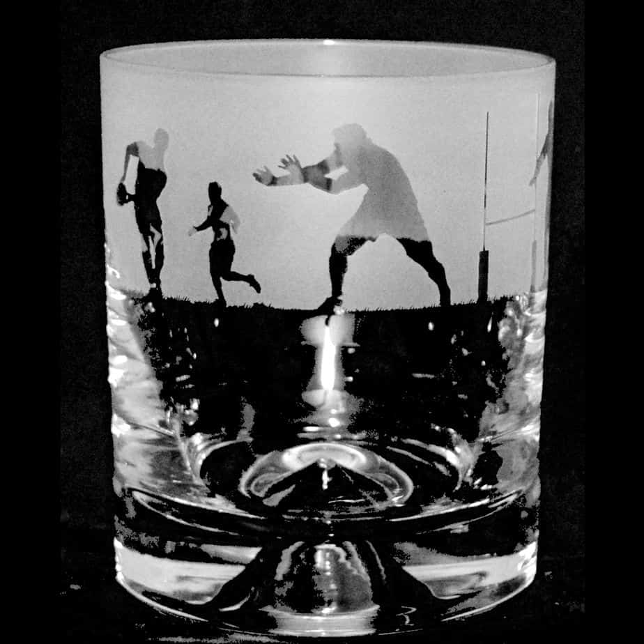 RUGBY SCENE – Whisky Tumbler