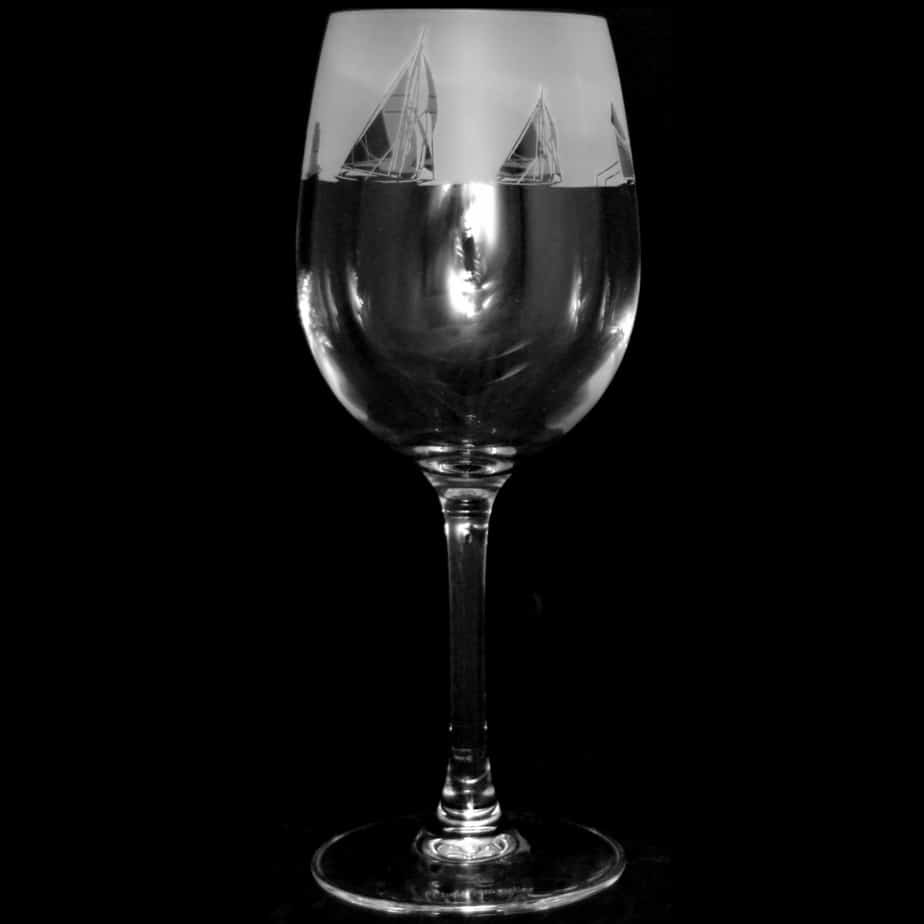 ALL AT SEA Crystal Wine Glass 35cl