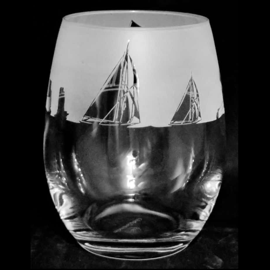 ALL AT SEA Stemless Wine/Water Glass 36cl