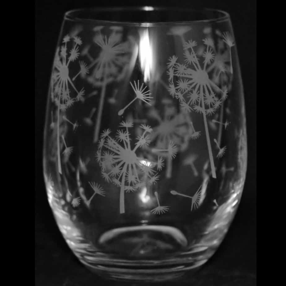 DANDELION Stemless Wine/Water Glass 36cl