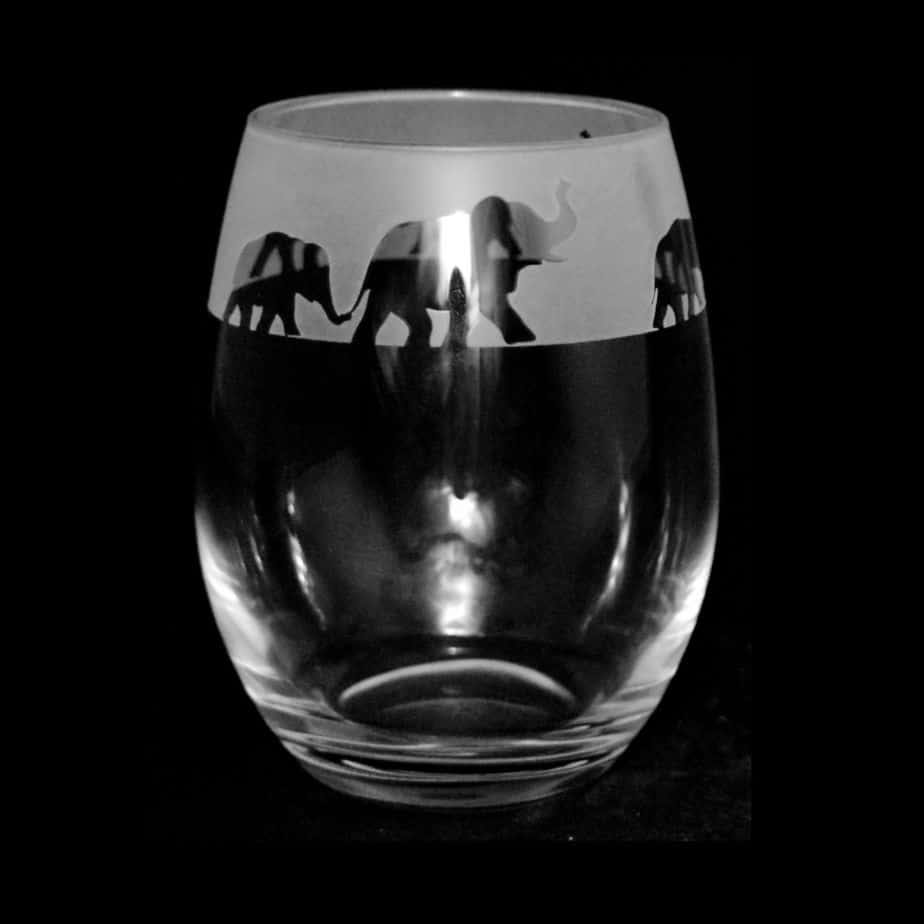 ELEPHANT Stemless Wine/Water Glass 36cl