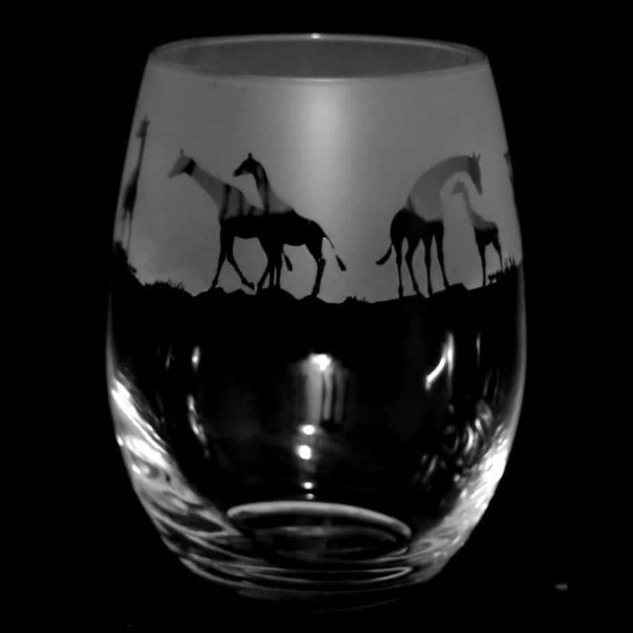 GIRAFFE Stemless Wine/Water Glass 36cl