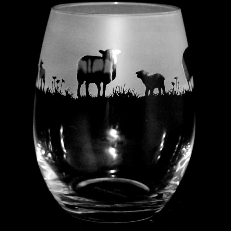 SHEEP Stemless Wine/Water Glass 36cl