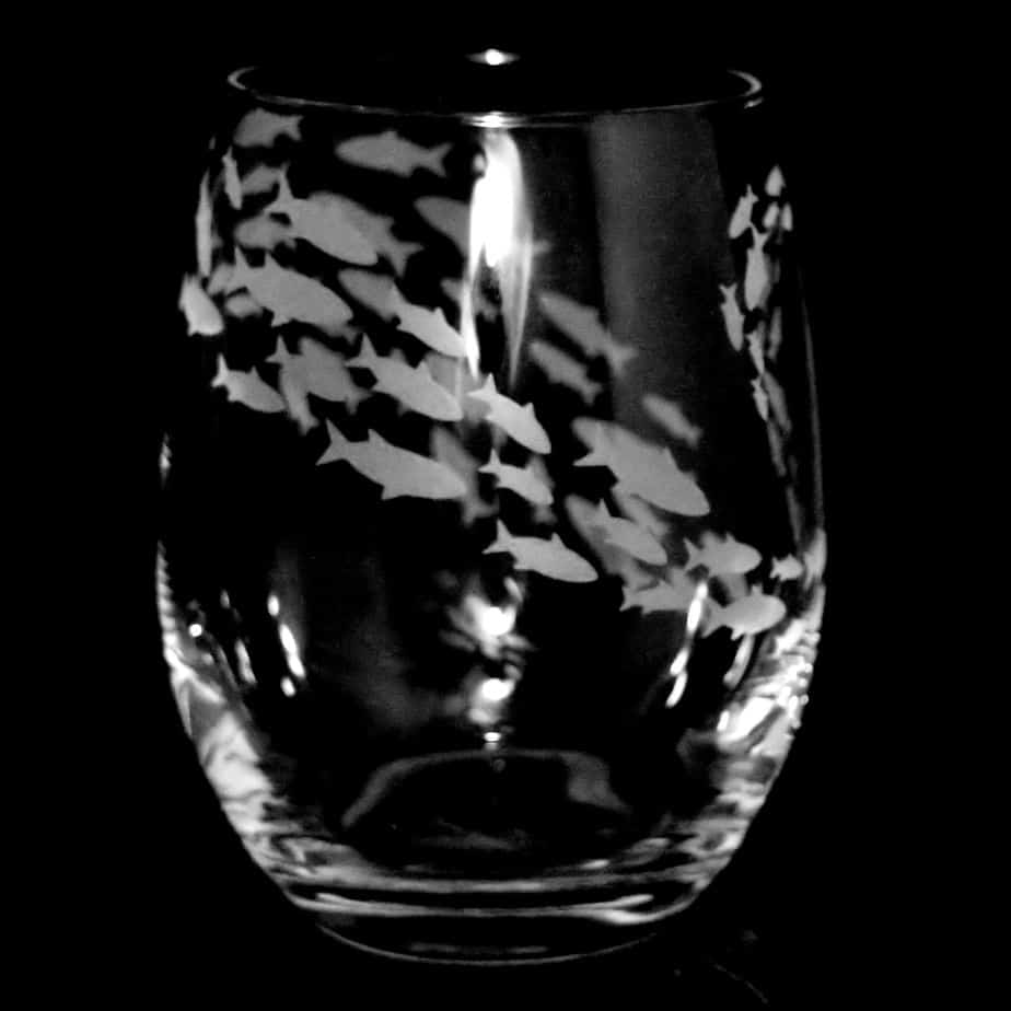 SHOAL Stemless Wine/Water Glass 36cl