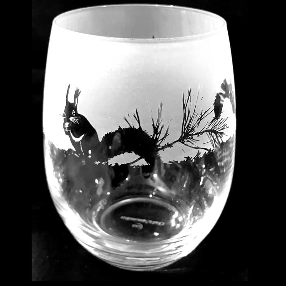 SQUIRREL Stemless Wine/Water Glass 36cl