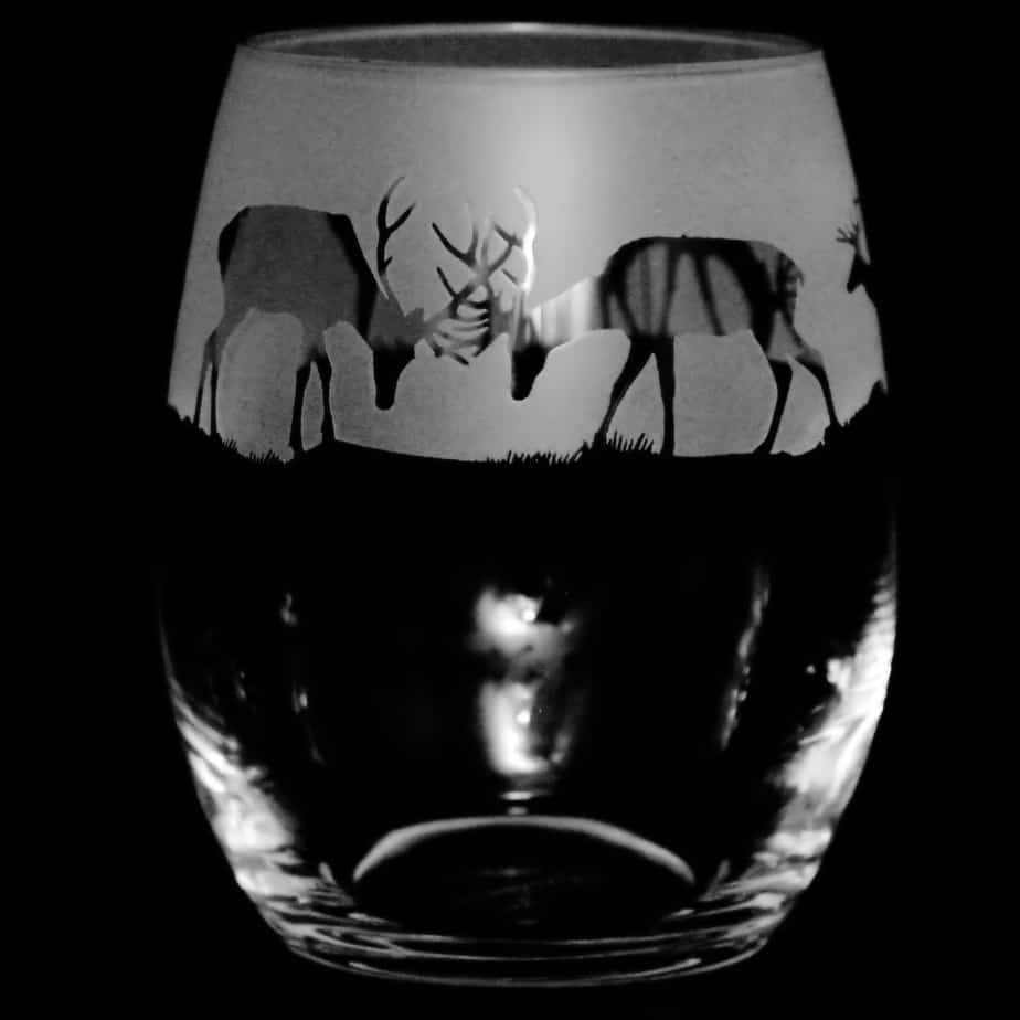 STAG Stemless Wine/Water Glass 36cl