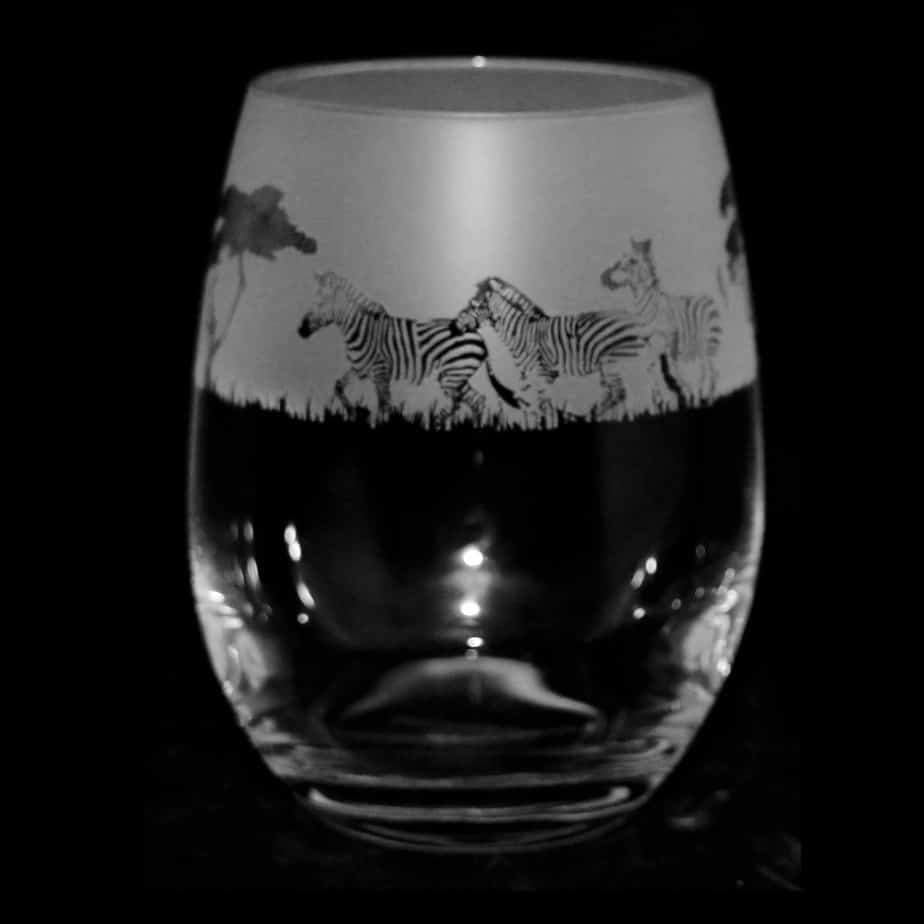 ZEBRA Stemless Wine/Water Glass 36cl