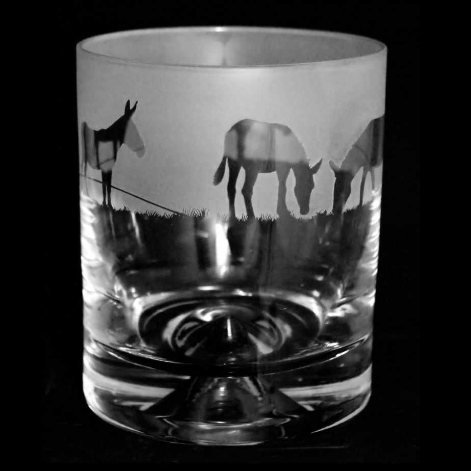 LITTLE DONKEY Whisky Tumbler