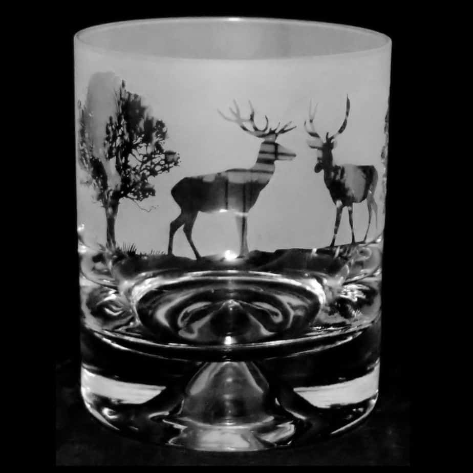 COUNTRY LIFE WOODLAND SCENE Whisky Tumbler