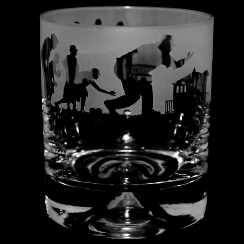 LAWN BOWLS SCENE – Whisky Tumbler
