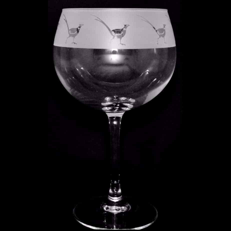 PHEASANT 70cl Gin Balloon Glass