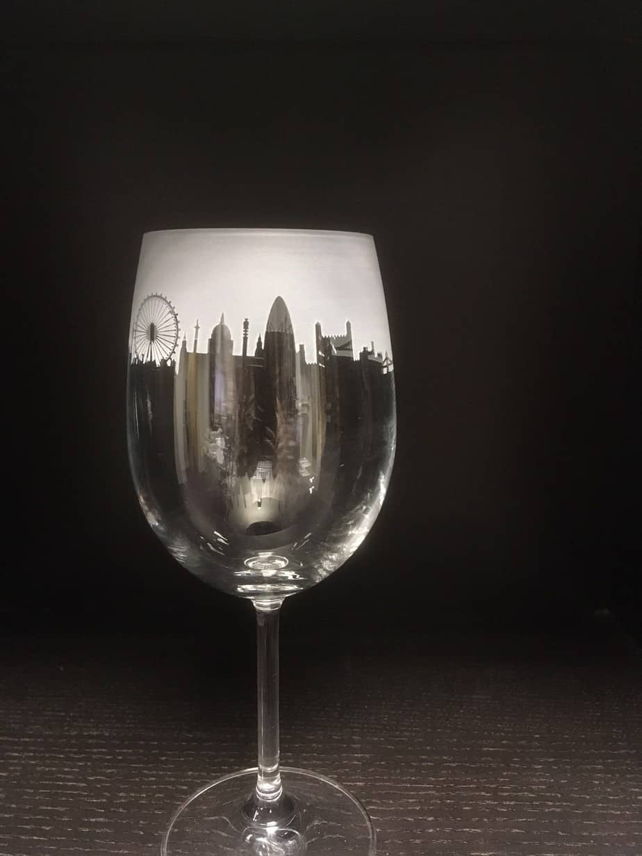 LONDON Crystal Wine Glass 35cl