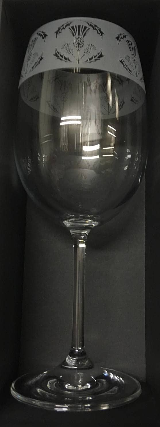 THISTLE Crystal Wine Glass 35cl