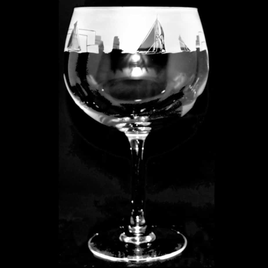 ALL AT SEA 70cl Gin Balloon Glass