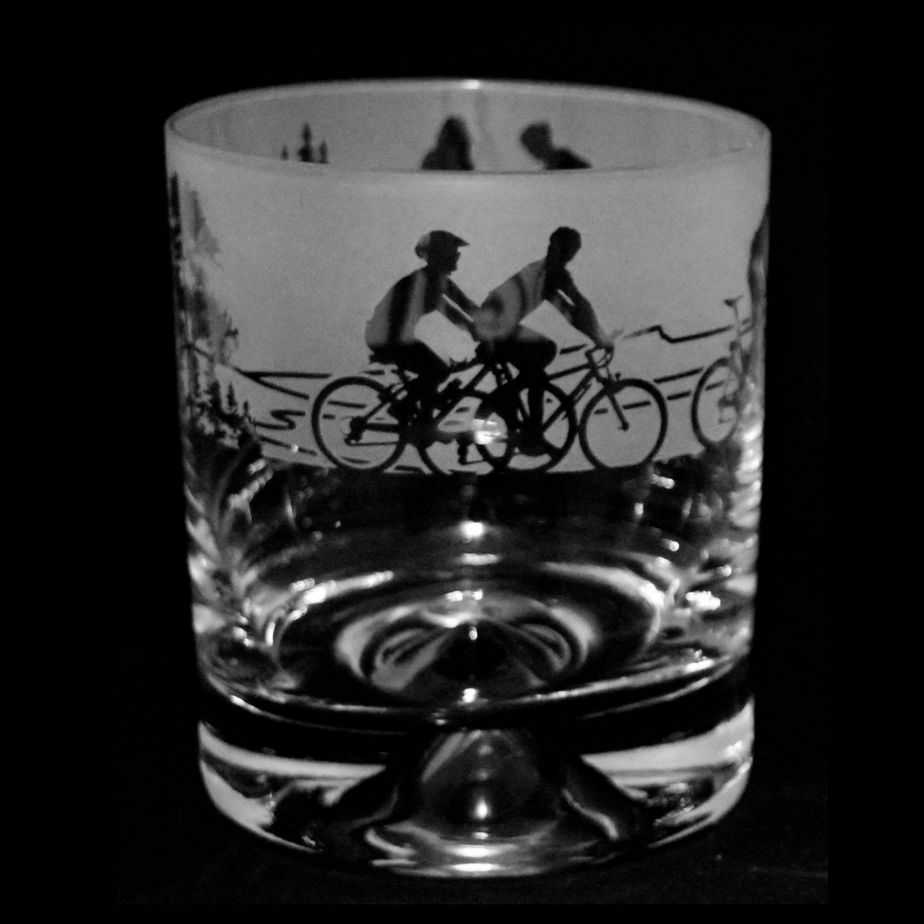 CYCLING Whisky Tumbler