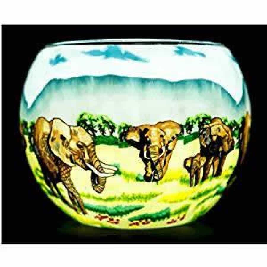 Elephant Family Light Glass (165028)