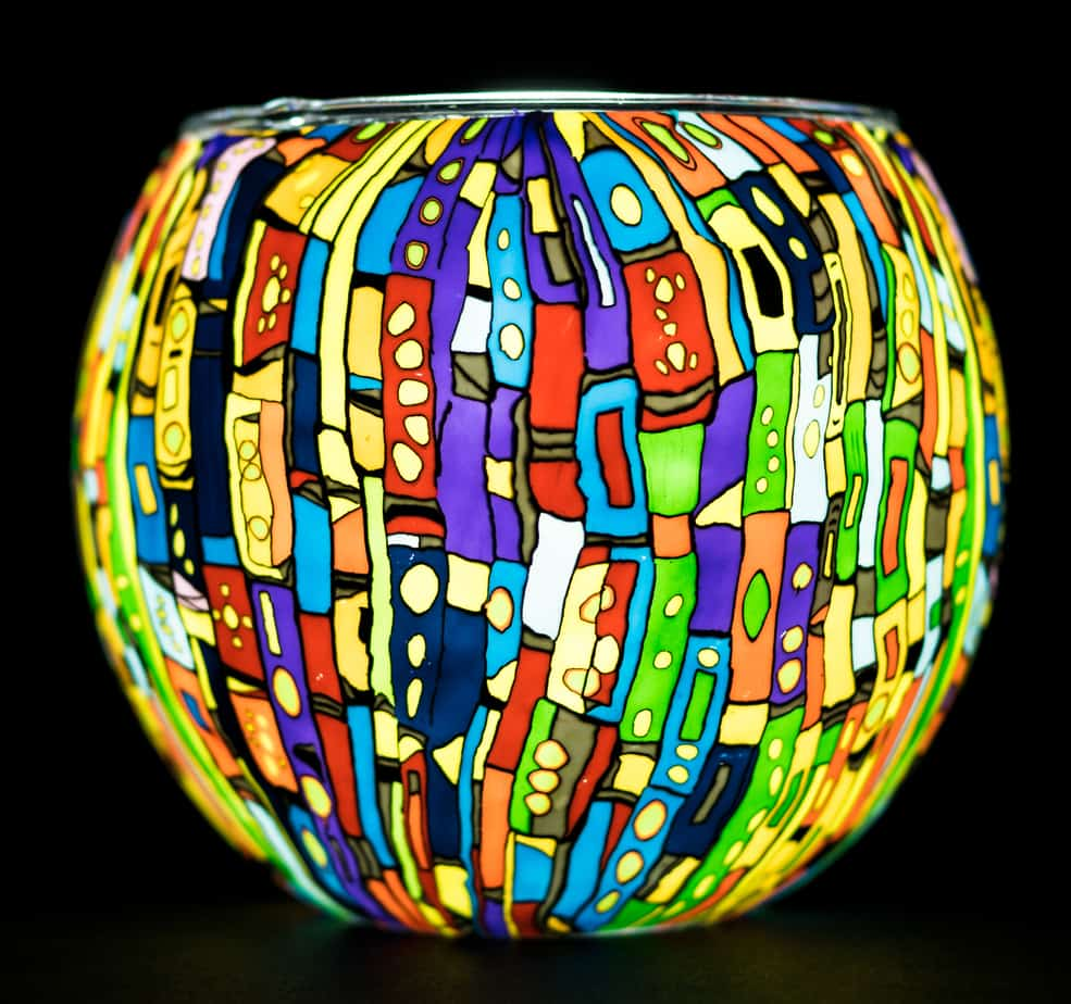 Kaleidoscope Light Glass (165042)