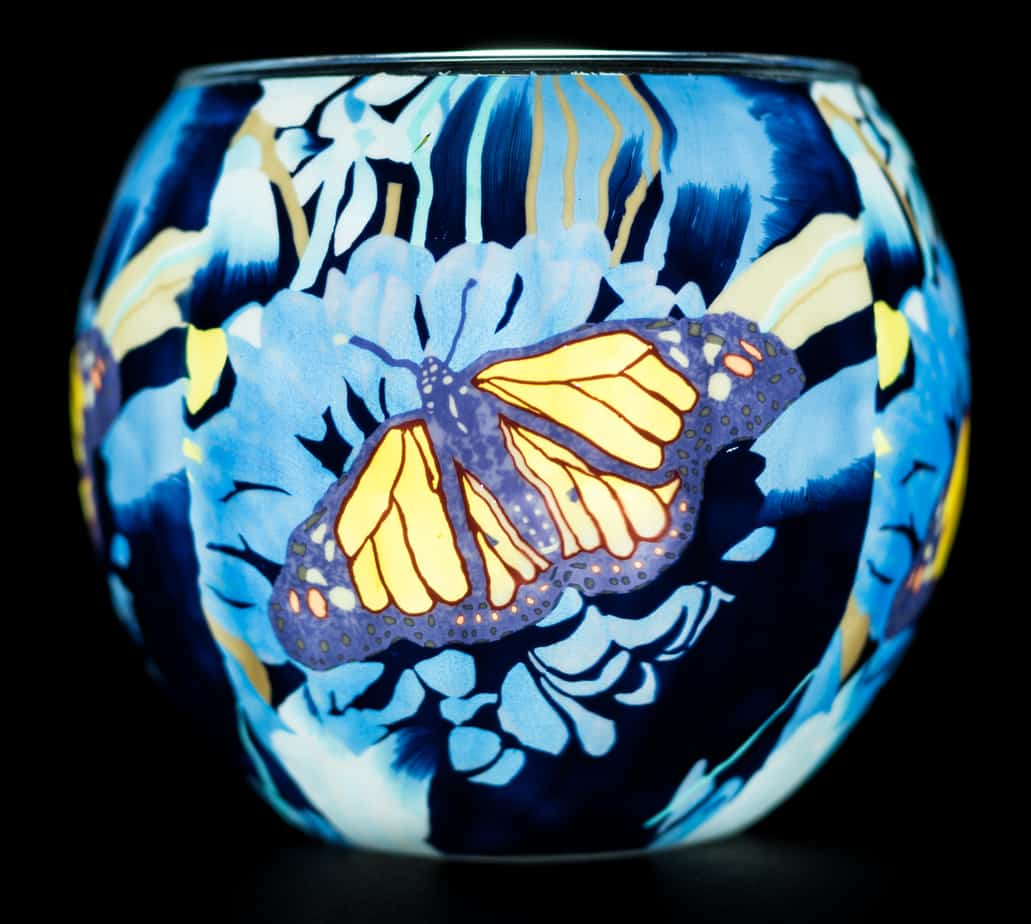 Monarch Butterfly Light Glass (165015)