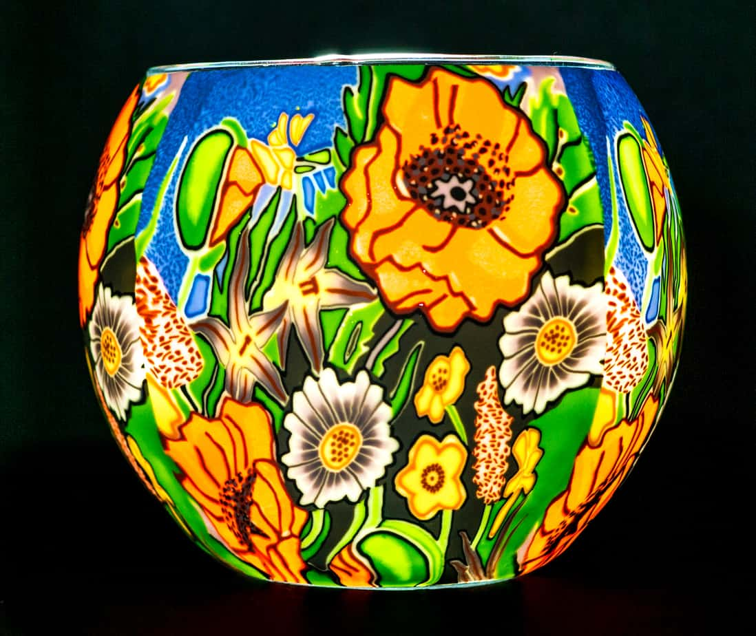 Poppy Garden Light Glass (165120)