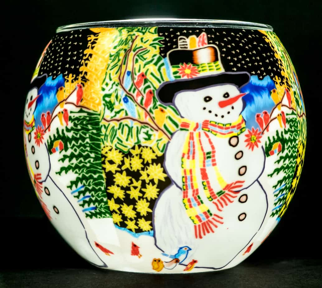 Snowmans Chorus Light Glass (165143)