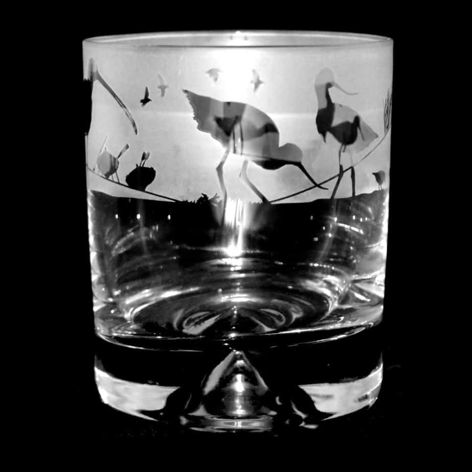WADING BIRDS Whisky Tumbler