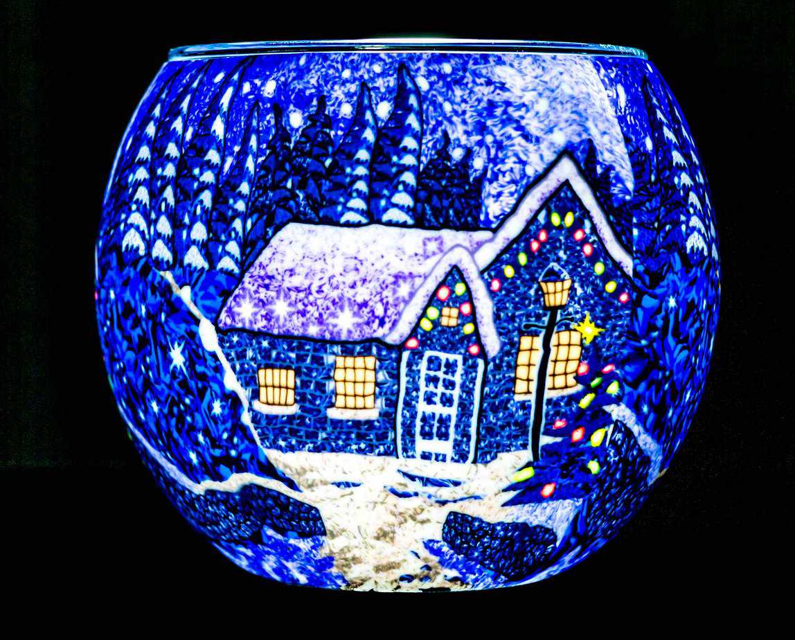 Winter Wonderland Light Glass (165156)