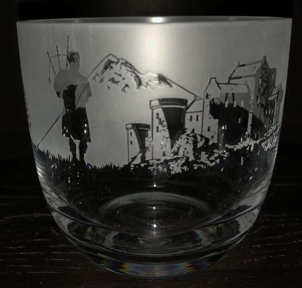 SCOTTISH SCENE Candle Pot