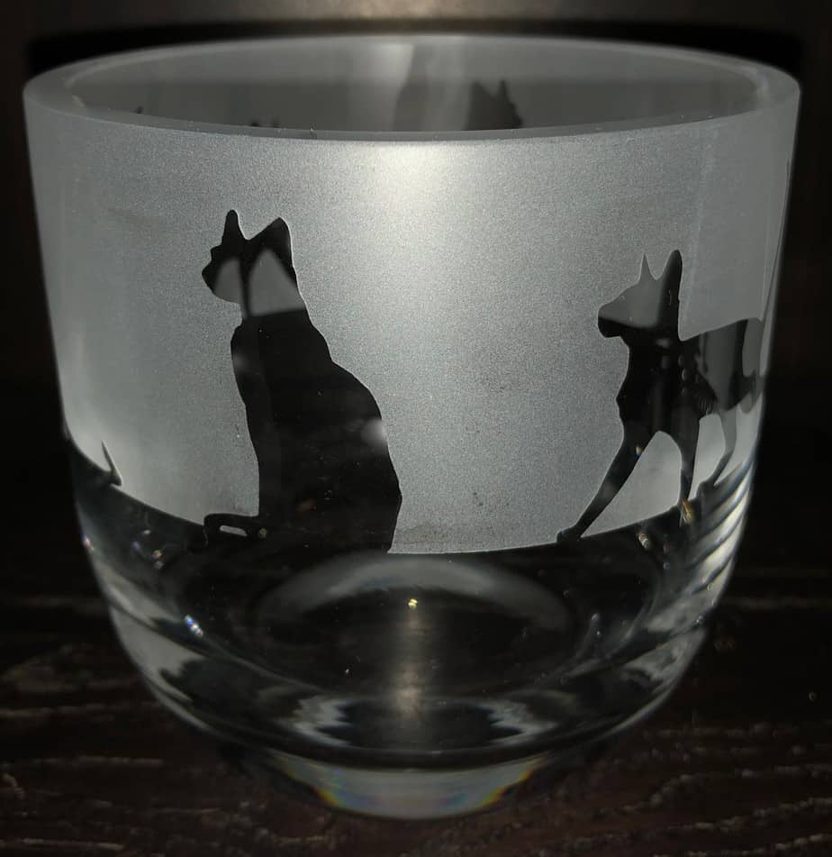 SIAMESE CAT Candle Pot