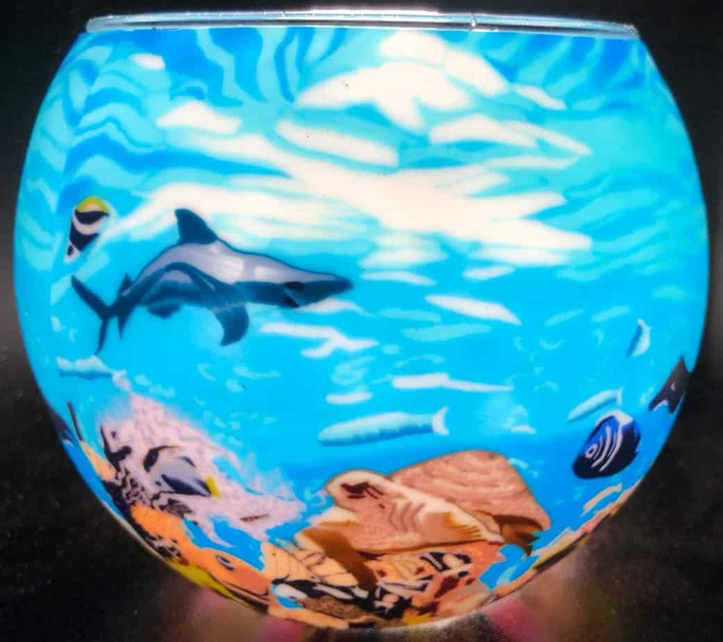 Under The Sea Light Glass (205225)