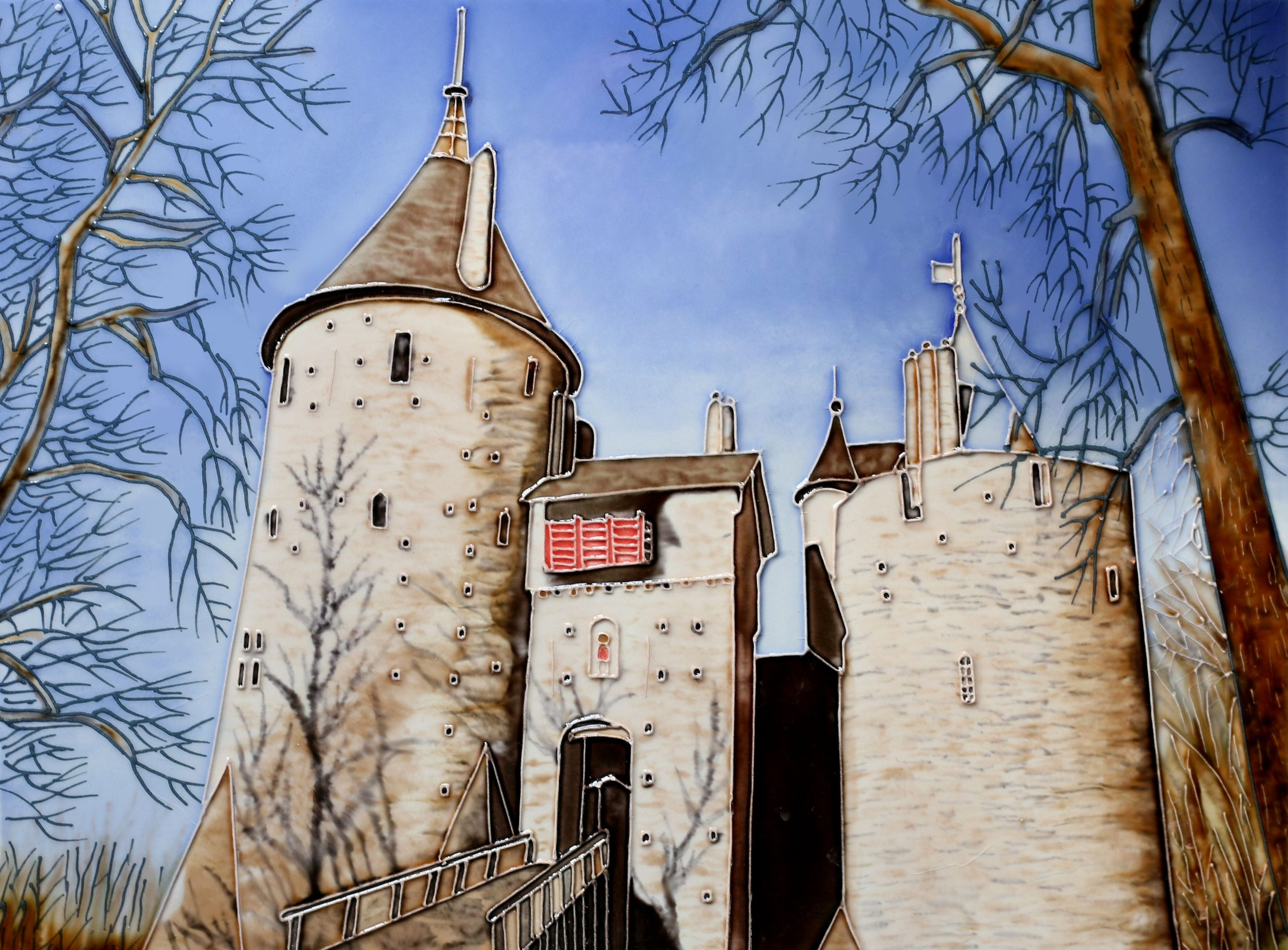Castell Coch Winter 11×14 (165093)