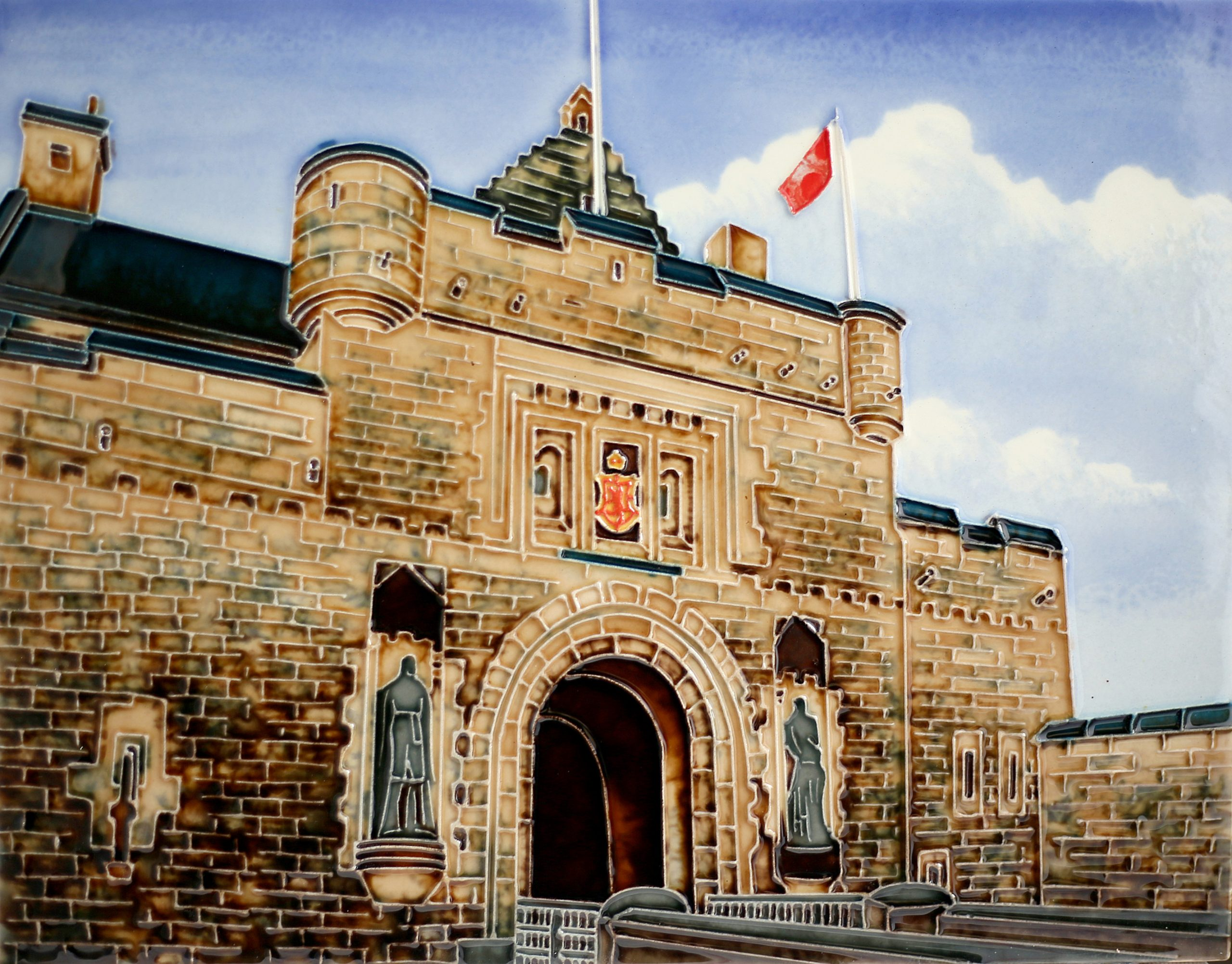 Edinburgh Castle Gate 11×14 (191092)