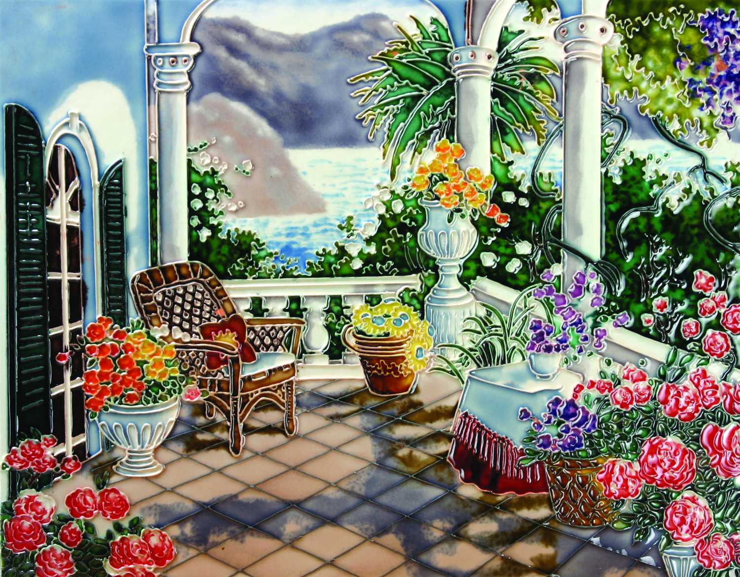 View From The Terrace 11×14 (520217)