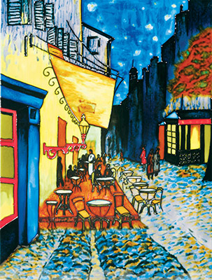 Cafe By Night 11×14 (520218)