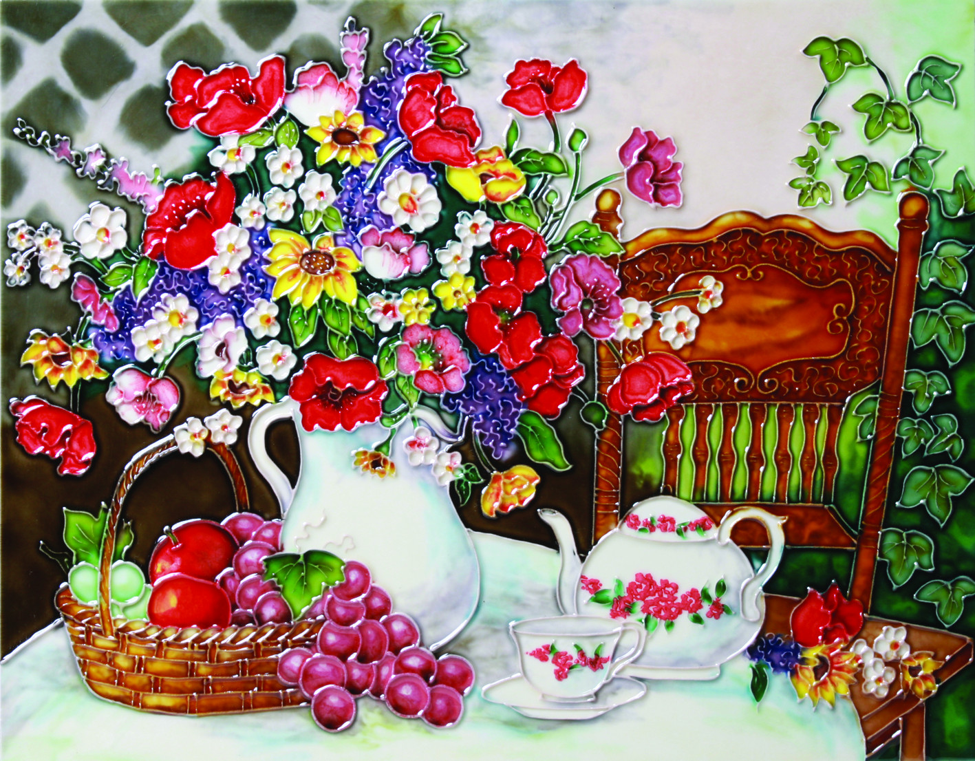 Afternoon Tea 1 11×14 (520505)