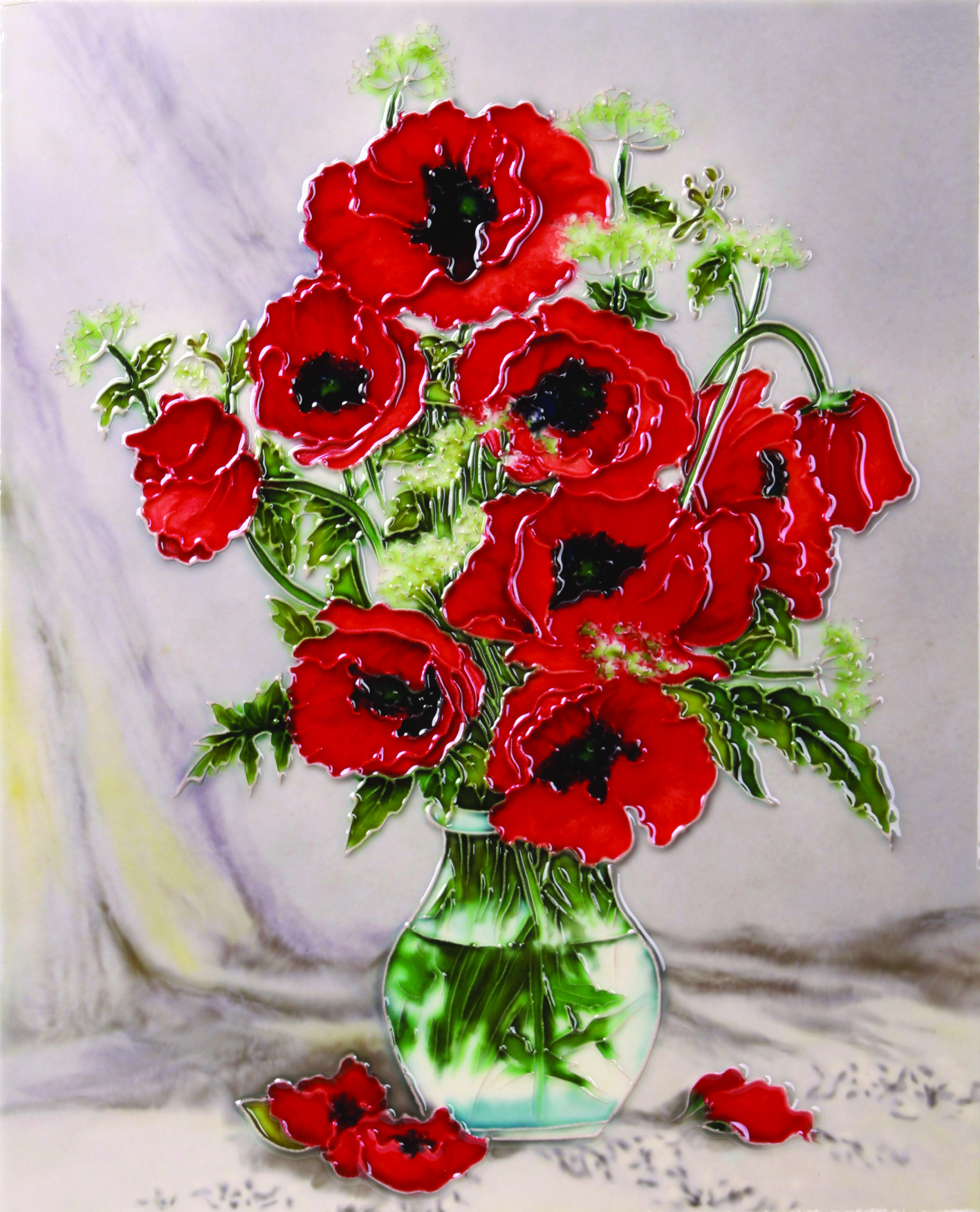 Still Life Poppies 11×14 (520535)