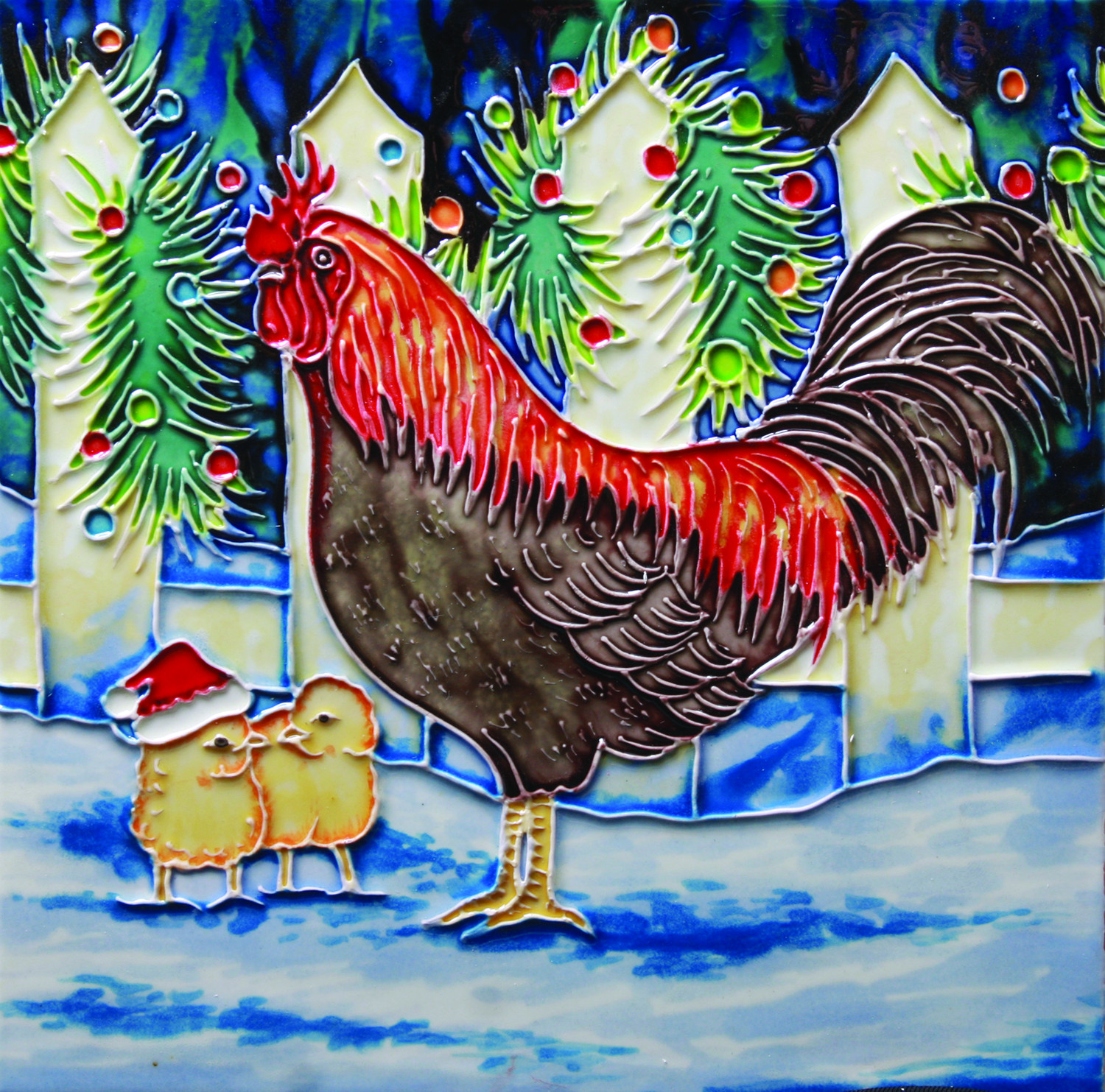 Christmas Chicken 8×8 (104522)