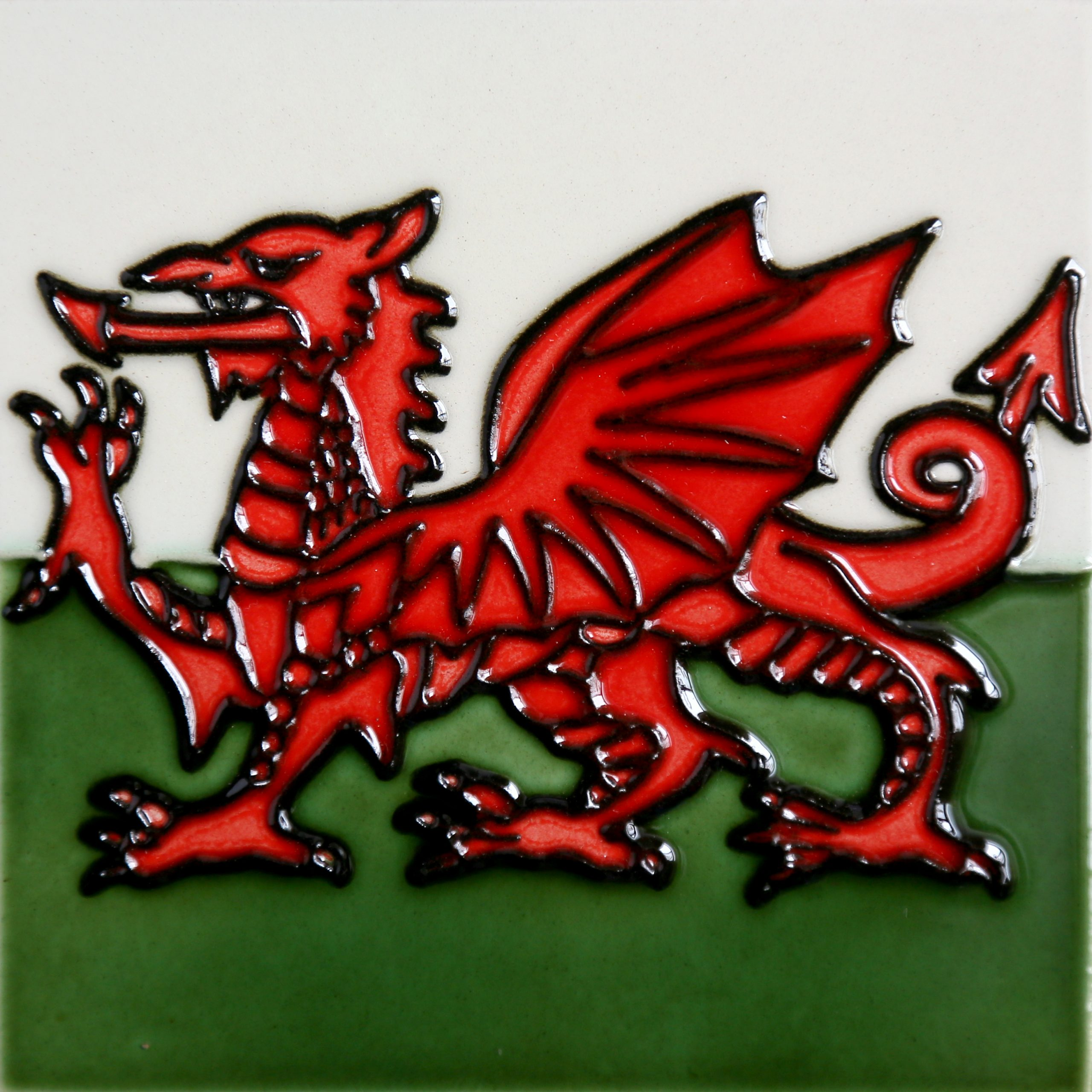 Welsh Dragon 8×8 (153310)