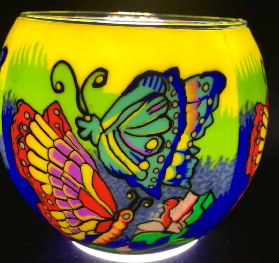 Madame Butterfly Light Glass (181080)