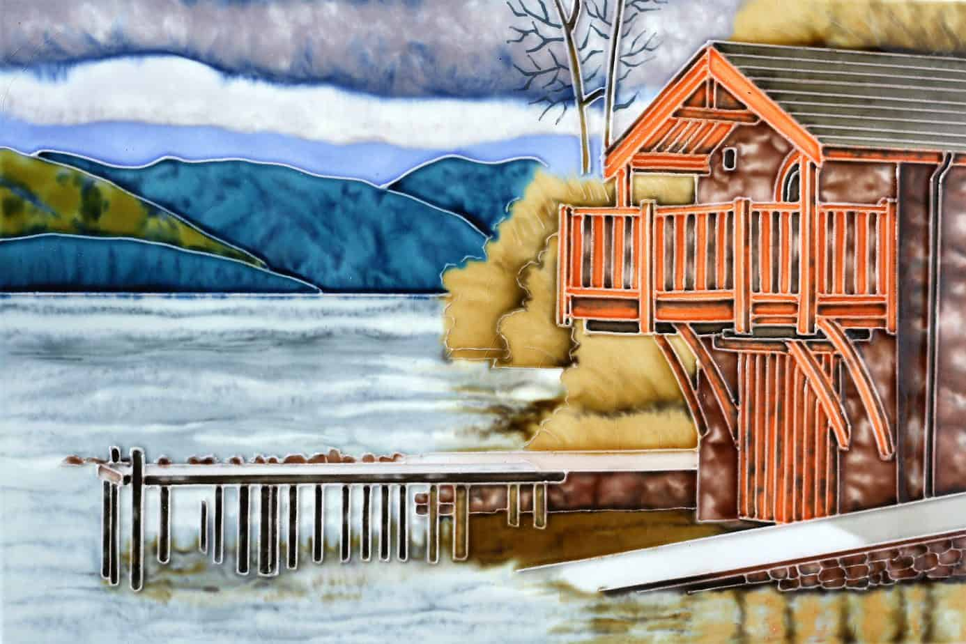 Lake Cottage 8×12 (171002)