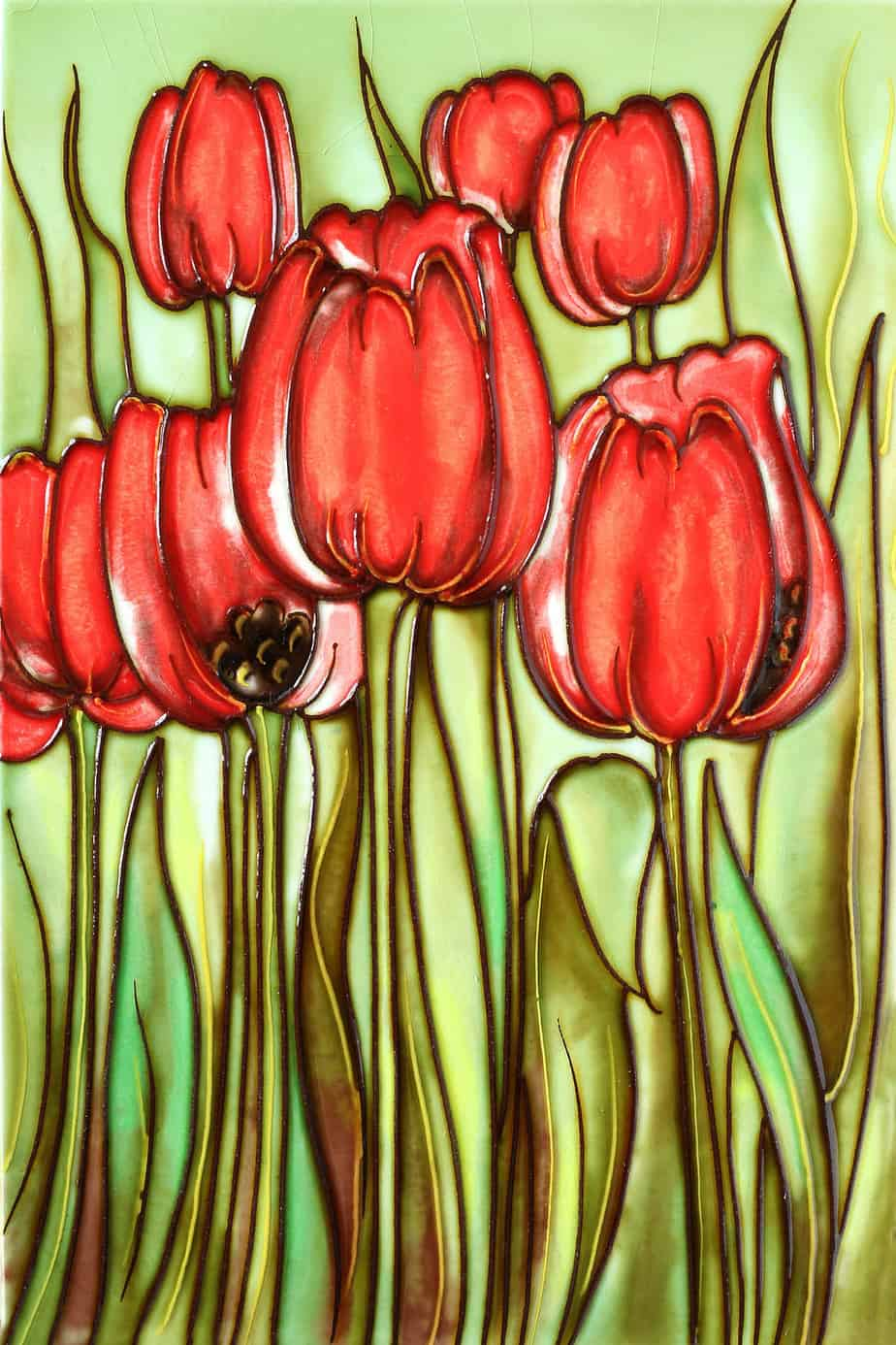 Long Stem Tulips 8×12 (171035)