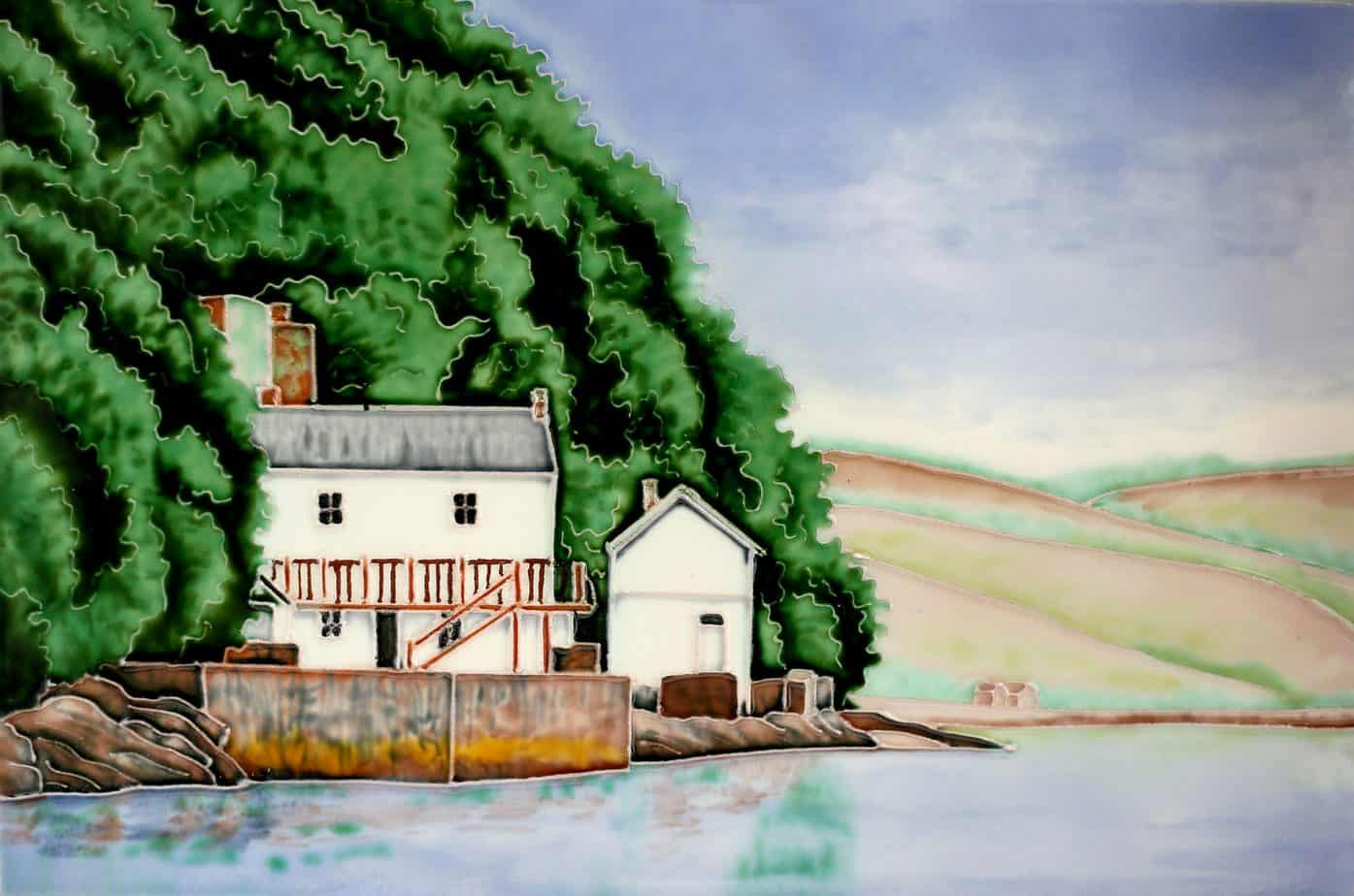The Boathouse Laugharne 8×12 (191107)