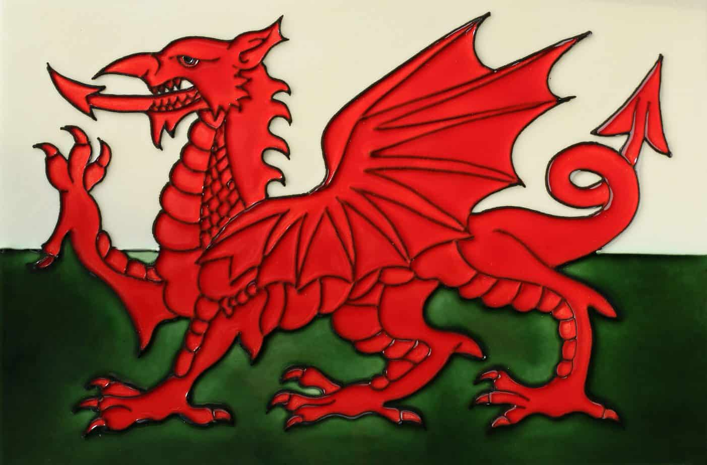 Welsh Dragon 8×12 (153282)