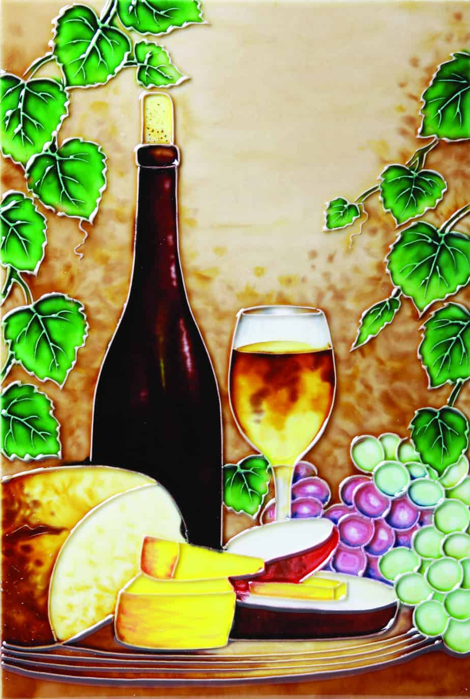 Wine & Cheese 1 8×12 (520332)